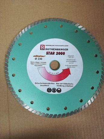 Tarcza Tnąca STAR 2000 FI230 (KAT.18230) Rothenberger