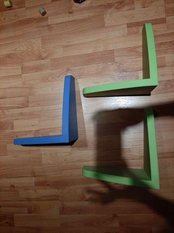 Zestaw półek plastikowych Ikea mamut