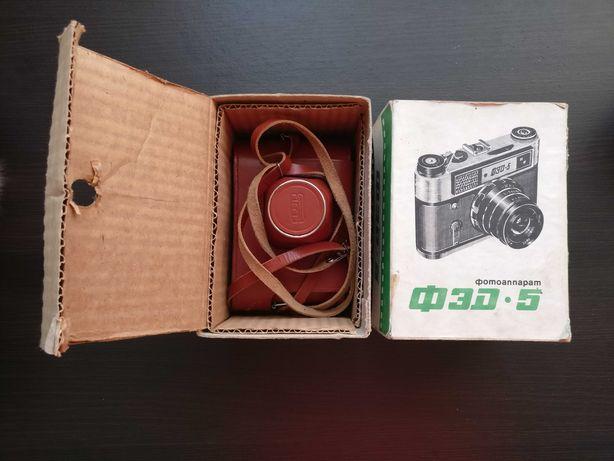 ФЭД-5 пленочный фотоаппарат