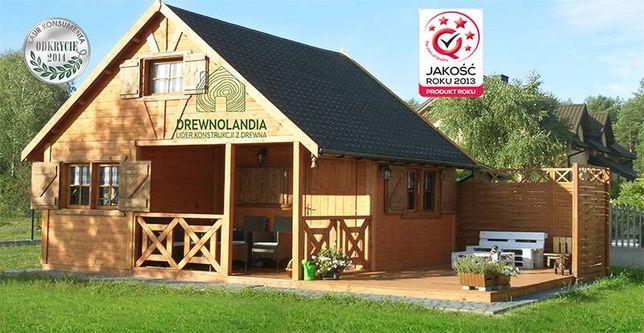 Domek do 35 m2 drewno bez pozwolenia altana na ogród