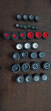 Kółeczka LEGO różne rozmiary