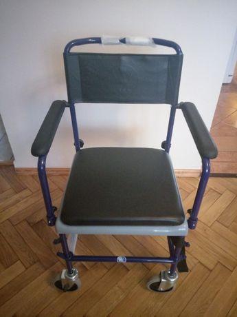 Wózek rehabilitacyjny(toaleta)