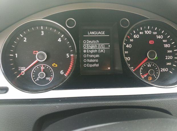 Русифікація VW passat b6, b7, CC, Jetta, Tiguan