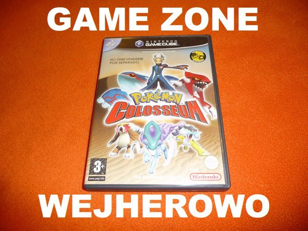 Pokemon Colosseum Nintendo GameCube + Wii =ANGLIK = Wejherowo
