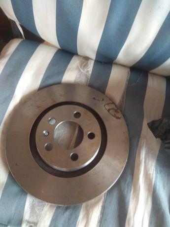 Диски гальмівні передні Volkswagen, audi, seat, skoda delphi bg3036
