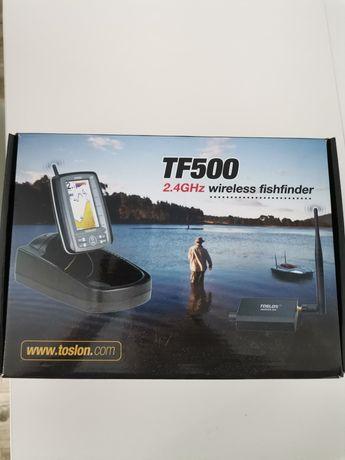 Echosonda toslon tf 500 do łódki zanętowej