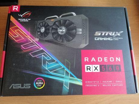 Karta graficzna RADEON RX560 4 gb Ostatnie 2 szt!!!