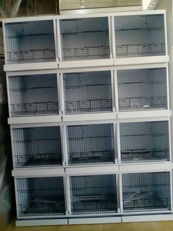 (Avi-maia) viveiro de criação 12 jaulas