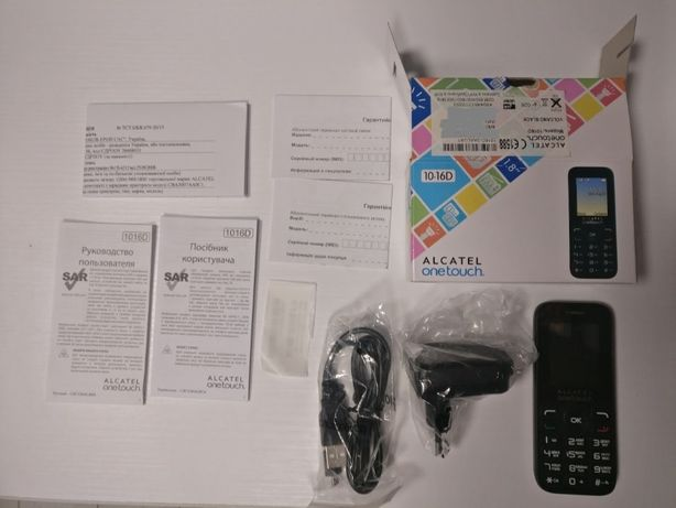 Телефон Alcatel One Touch 1016D 2 sim новый