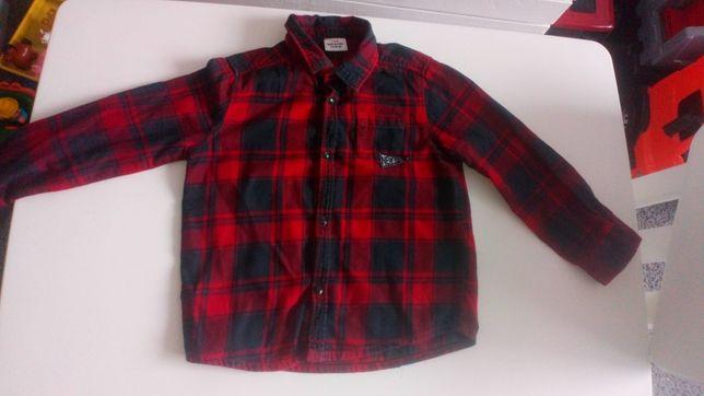 Koszula w kratę Tape a'loeil, rozmiar 104 - idealna na sesję świąteczn