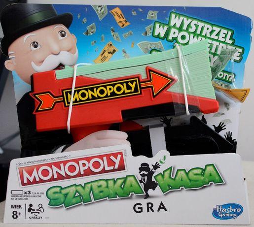 Gra Monopoly Szybka Kasa NOWA Hasbro E3037 Wersja Polska Zręcznościowa