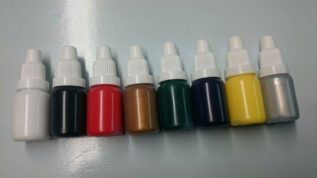 Pigmenty barwniki do żywicy epoksydowej