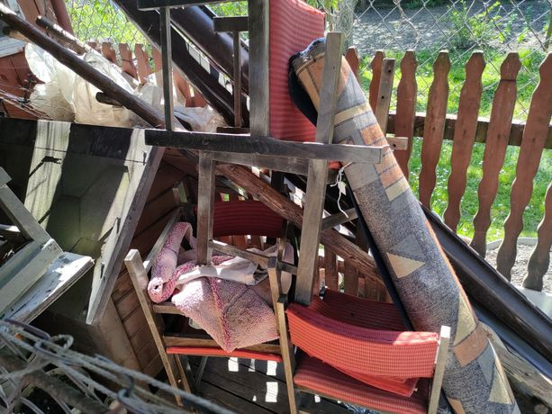 Krzesła zestaw 4:szt. PRL