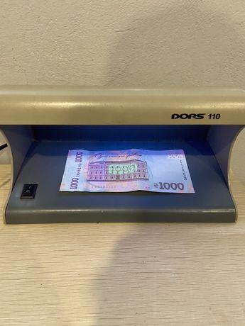 Детектор валют Dors 110  ультрафиолет