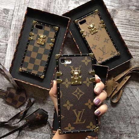 Чехол Louis Vuitton LV на IPhone 7 7+ 8 8+ X XS XSMax 11 Pro 11 Promax
