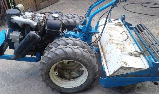 Glebogryzarka Nibbi Diesel 18km Lombardini Ciągniczek Ciągnik
