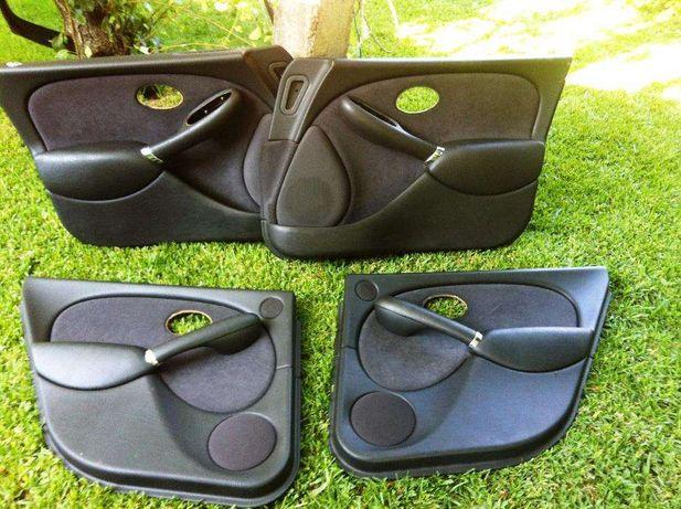 Rover 75 - Forras/Quartelas Preto Tecido & Camurça