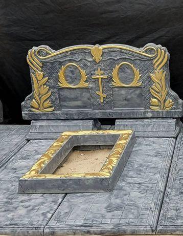 Памятники столы лавочки ограждения усадочные плиты