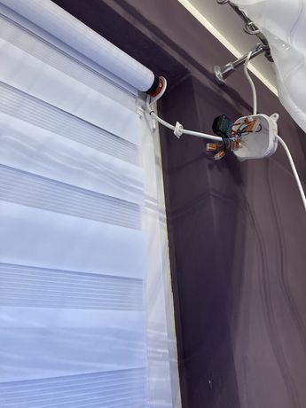 Zestaw roleta wewnętrzna silnik wifi