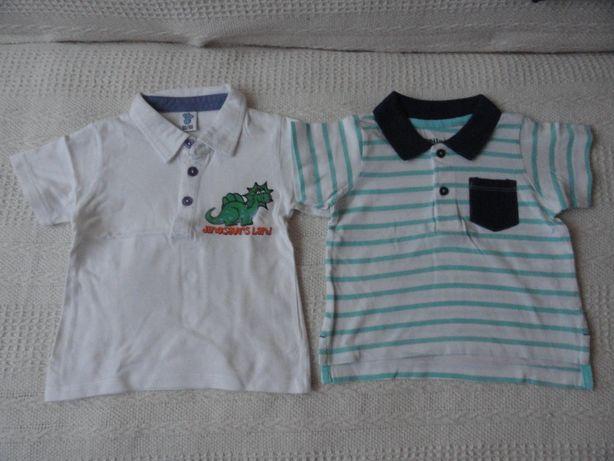 Koszulki polo chłopięce 74-86