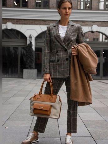 Новый пиджак блейзер кашемир шерсть Peserico Brunello Италия оригинал