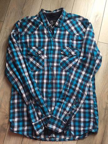 Koszula męska, chłopięca r. M, wzrost 178cm