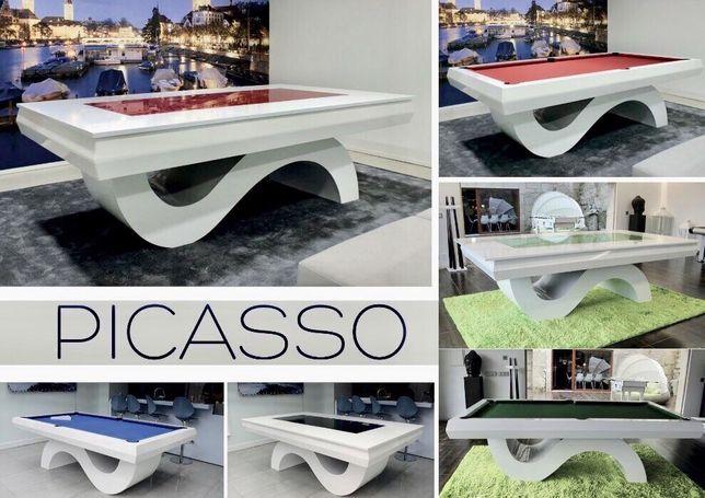 Bilhares Europa fabricante mod Picasso oferta tampo especial