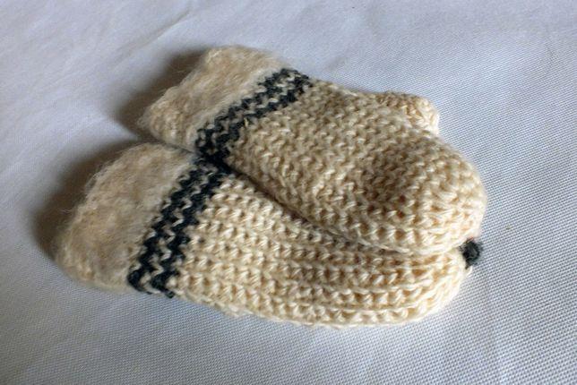 Nowe Rękawiczki z jednym palcem wełniane rozmiar S