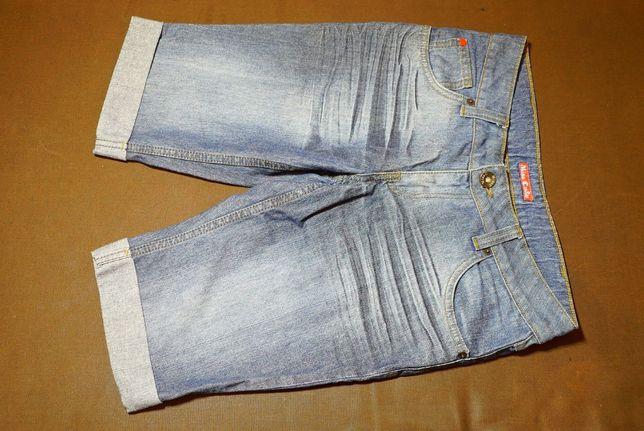 шорты бриджи джинсовые новые рост 150 см