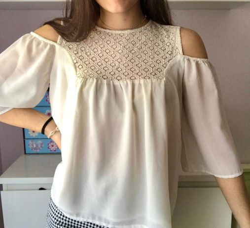 Blusa off the shoulder