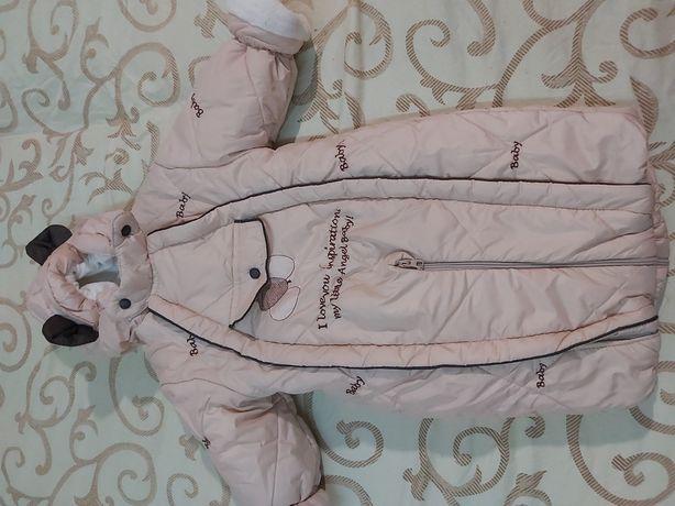 Комбинезон тёплый - верхняя детская одежда