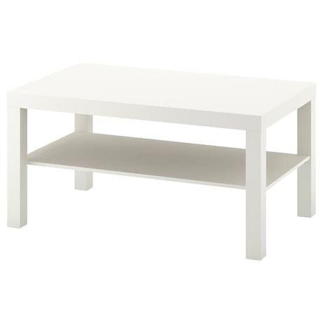 Biała ławka IKEA