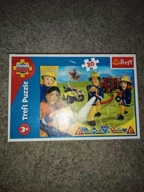 Puzzle 30 elementów strażak sam