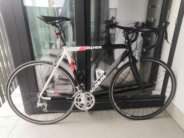 Szosa - ACCENT APEX 58' rama + Nowy Widelec FULL Carbon