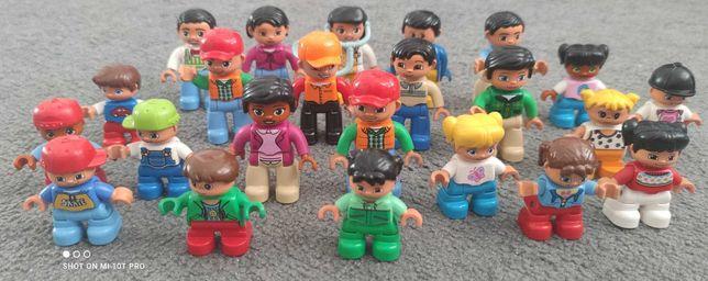 Lego Duplo mega dużo: ludziki, zwierzątka, meble, pojazdy, plac zabaw!