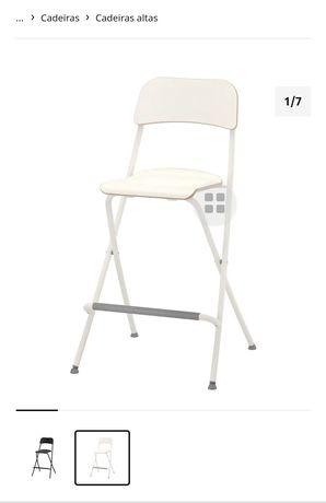 2 cadeira alta Ikea