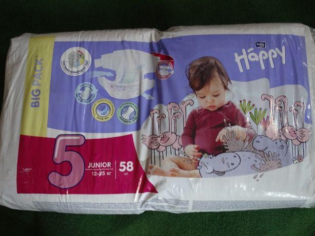 Підгузники дитячі Bella Baby Happy Junior 12-25 кг 58 ш