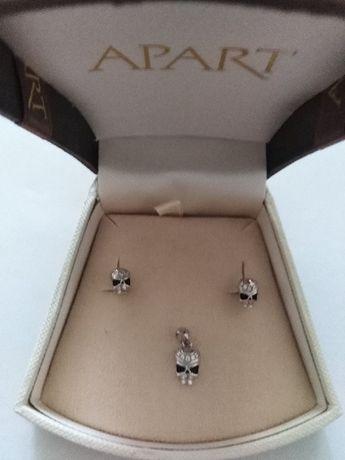 Komplet biżuterii marki Apart
