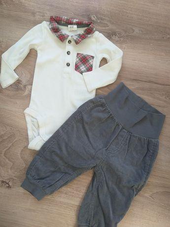 Komplet body spodnie h&m