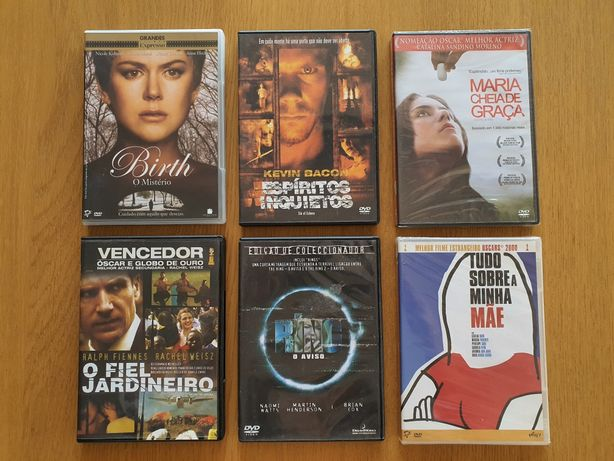 66 DVDs Filmes originais