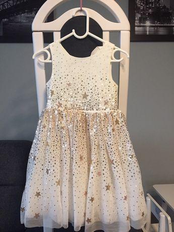 Sukienka H&M i balerinki + gratis bolerko
