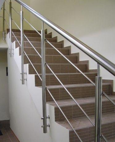 Изготовление лестничных перил , любой конфигурации и сложности .