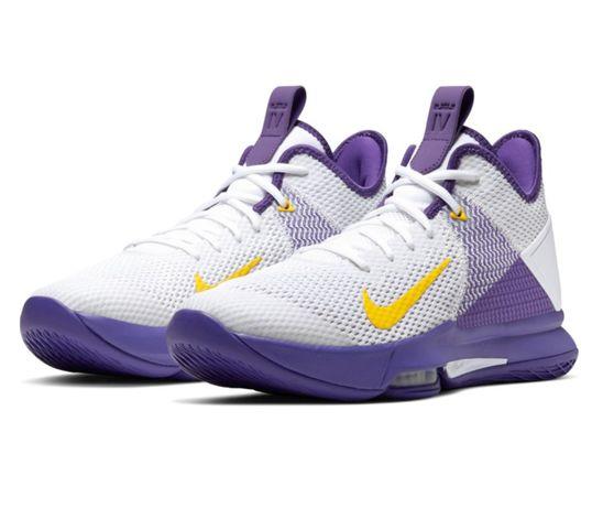 Nike Lebron Witness IV 8,5US 42eu (26,5cm) NBA Lakers nowe