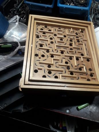Stara drewniana gra