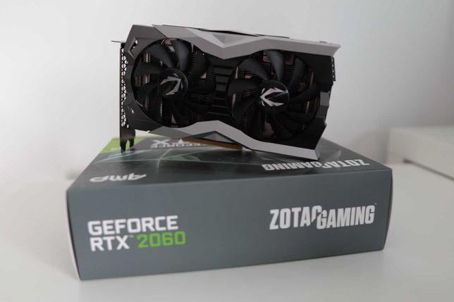 Placa Gráfica Zotac GeForce RTX 2060 AMP Edition 6GB