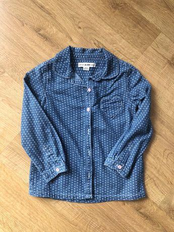 Koszula jeans 2-3 lata
