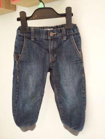 Lindex spodnie jeansowe przejściowe r.86