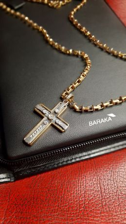 Цепь, цепочка, крест, крестик Baraka