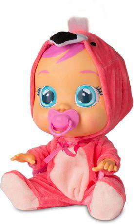 лялька ІMC Toys Cry Babies Flamingo ОРИГІНАЛ, кукла плакса, фламінго