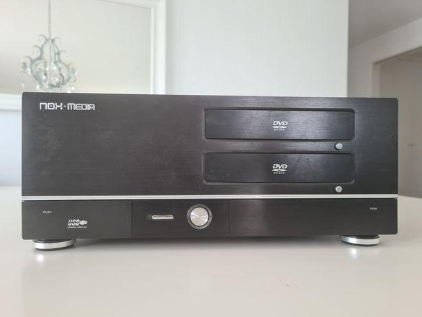 Caixa PC multimédia NOX